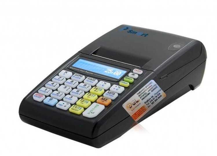 Φορητή ταμειακή μηχανή με wifi IP SMART με δώρο τσαντάκι μεταφοράς.