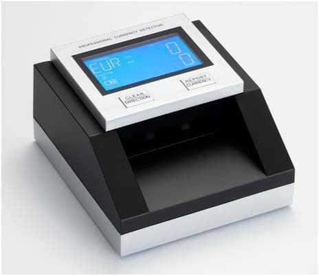 Ανιχνευτής πλαστών χαρτονομισμάτων ευρώ EC-350