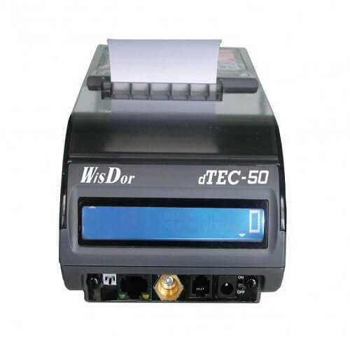 Φθηνή ταμειακή dtec-50 wisdor με δώρο έξτρα μπαταρία.